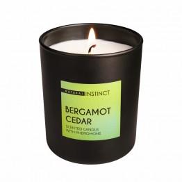 Ароматическая свеча Кедр & Бергамот