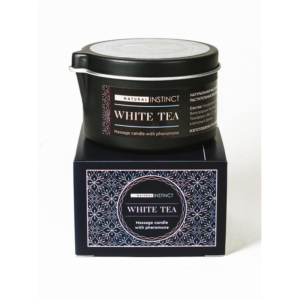 Массажная свеча Белый чай