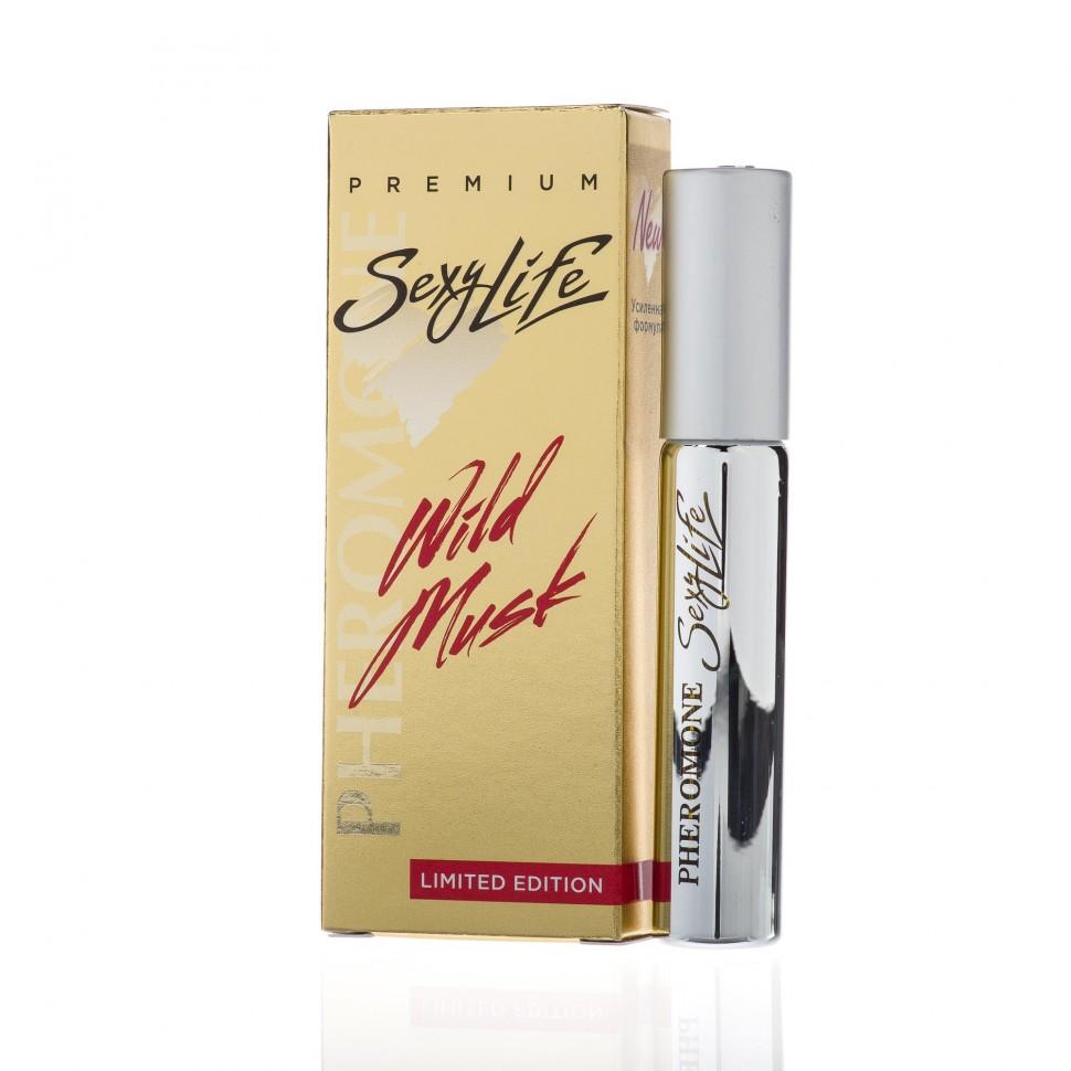 Духи с феромонами Sexy Life Wild Musk № 2 - философия аромата Eros Versace
